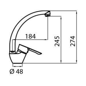 Pelikan tehnički crtež