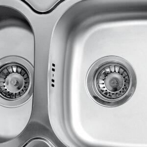 detalj preliva sudopere